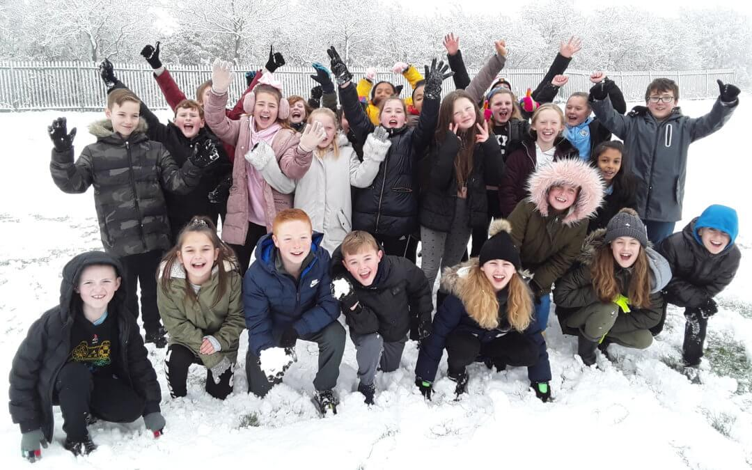 Y6 fun in the snow!