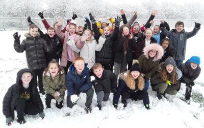 Y6 fun in the snow!