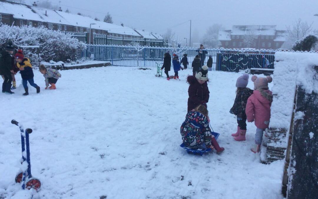 Snow Day in Early Years
