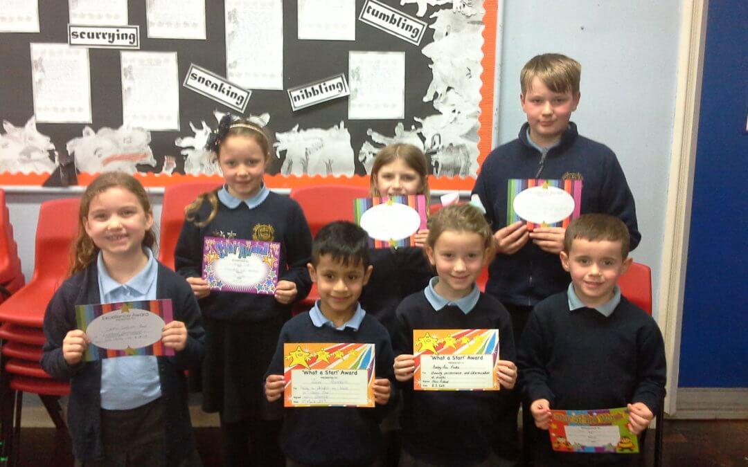 Certificate Winners