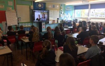Virtual Author visit