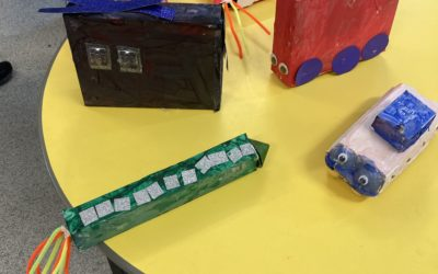 We had fun in Reception making vehicles to take Humpty Dumpty to hospital.