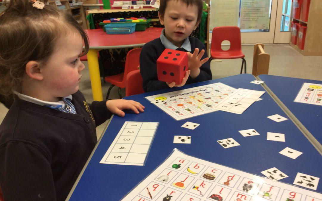 Maths Games in Nursery